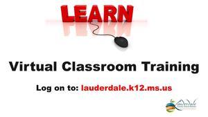 Virtual Classroom Training Graphic