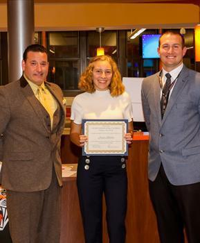 Hackettstown High School Student of the Month - October 2019 - Jessica Allardice