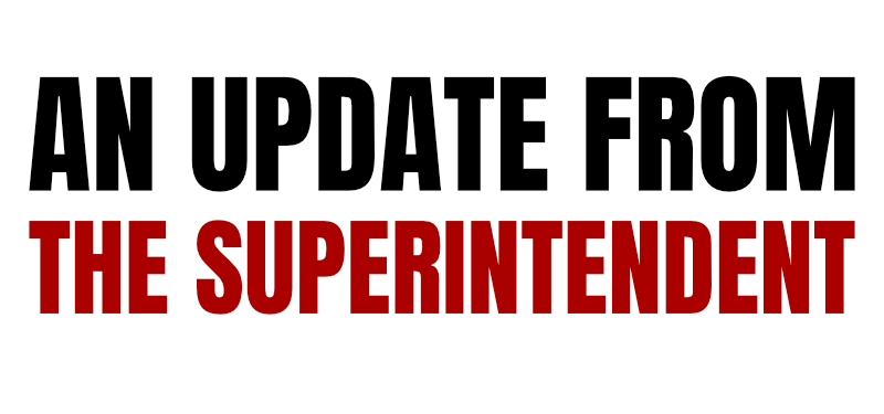 MAJOR UPDATE - A LETTER SUPERINTENDENT TELENA WRIGHT Thumbnail Image