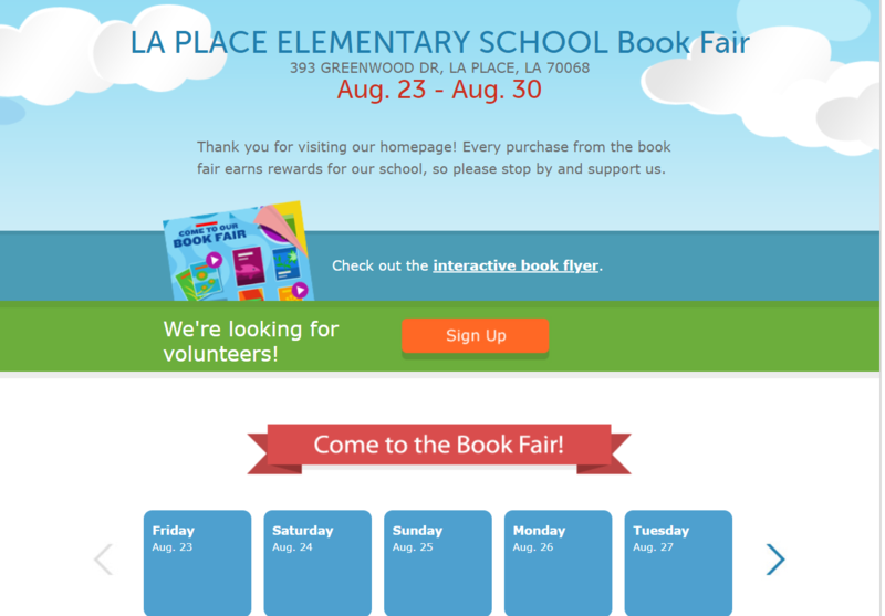 Book Fair Aug. 2019
