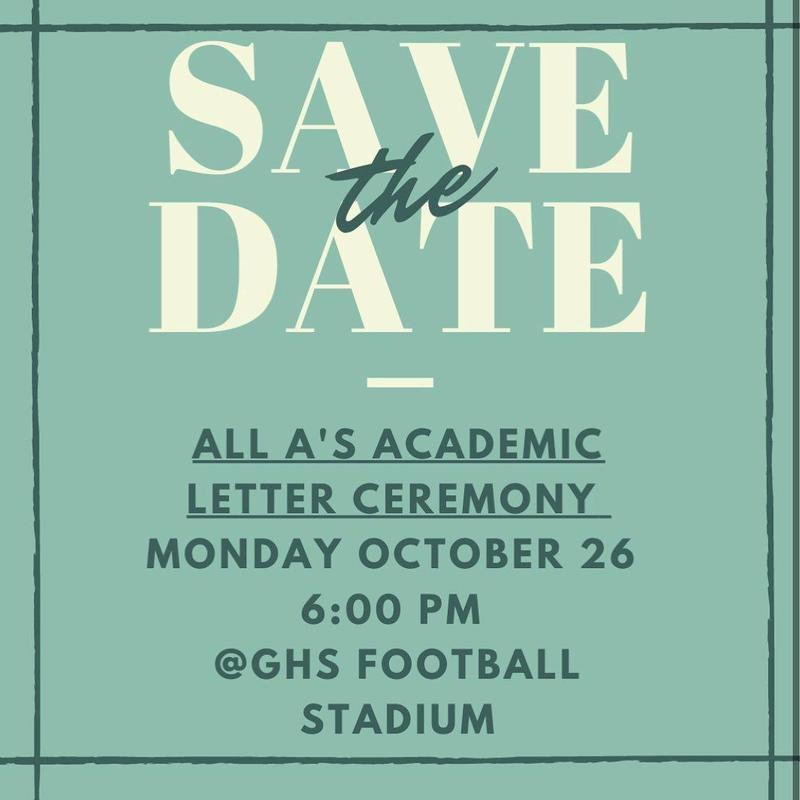 Academic Letter Ceremony Information