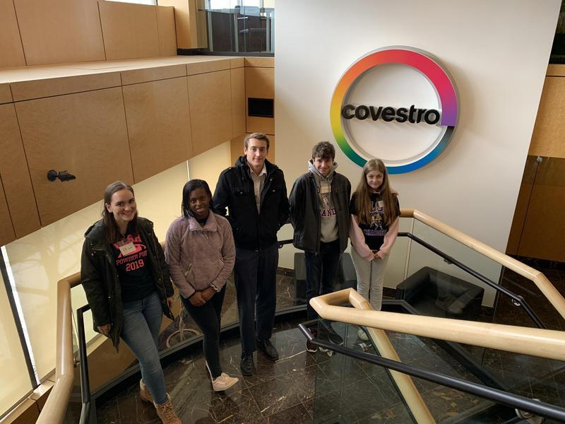 OLSH STEM Club at Covestro
