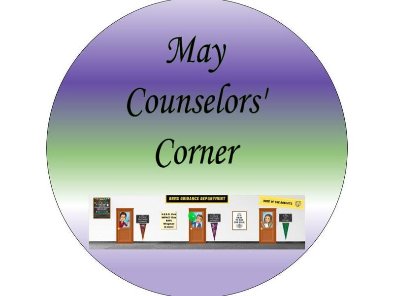 May Counselors' Corner Featured Photo