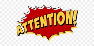 attention clipart