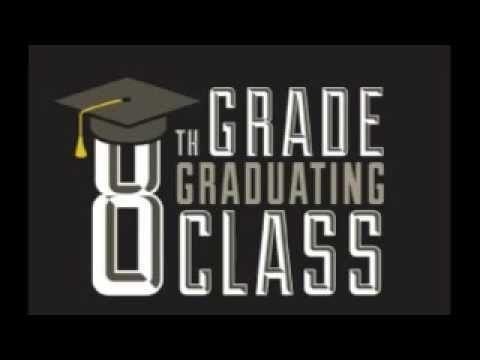 8th grade graduations