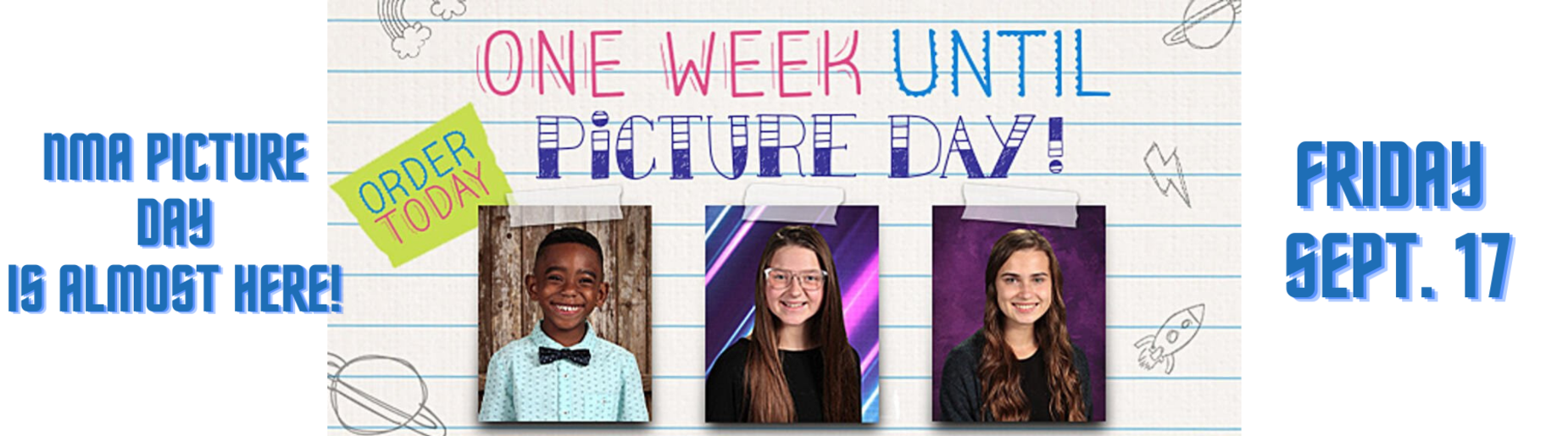 Picture day information - Friday, september 17th
