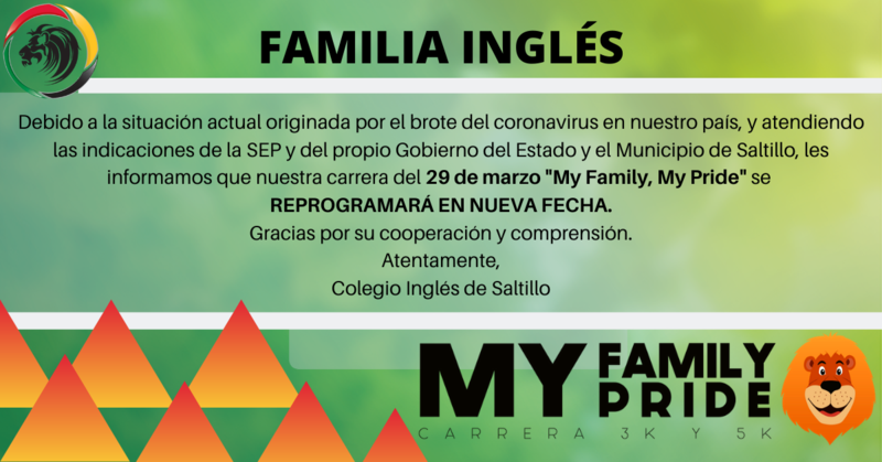 Reprogramación Carrera MY PRIDE, MY FAMILY! Featured Photo
