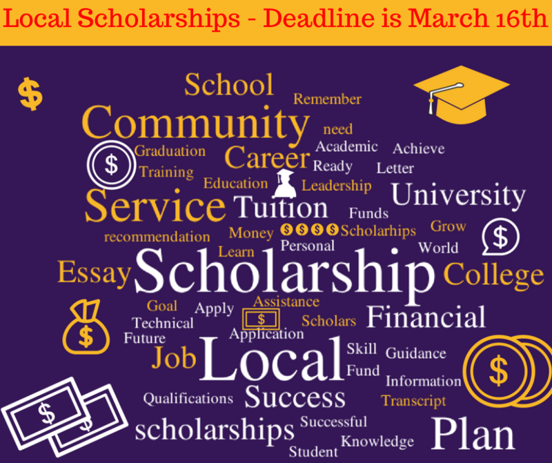 Senior - Local Scholarship Applications Featured Photo