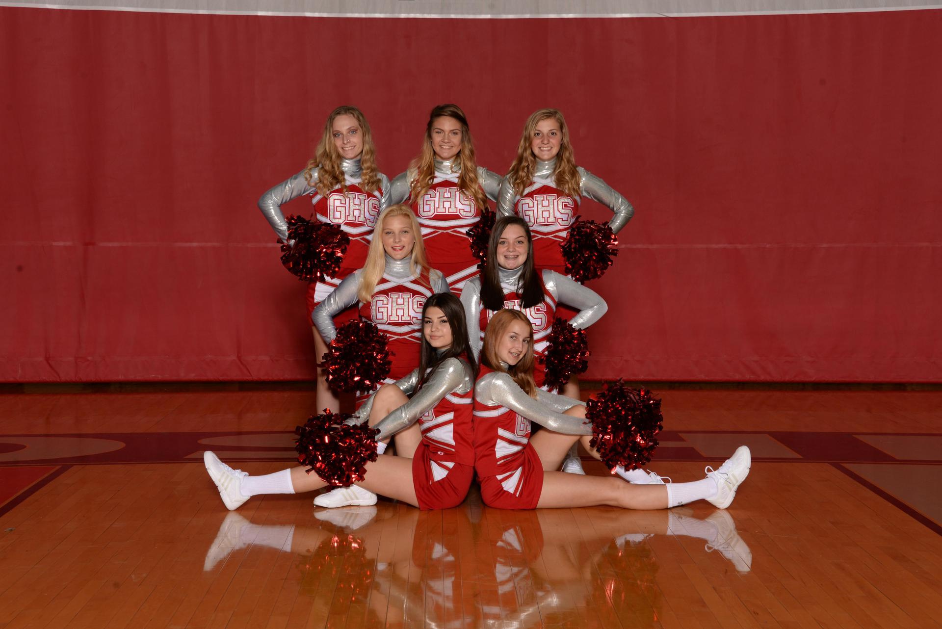 JV Cheerleaders 18/19