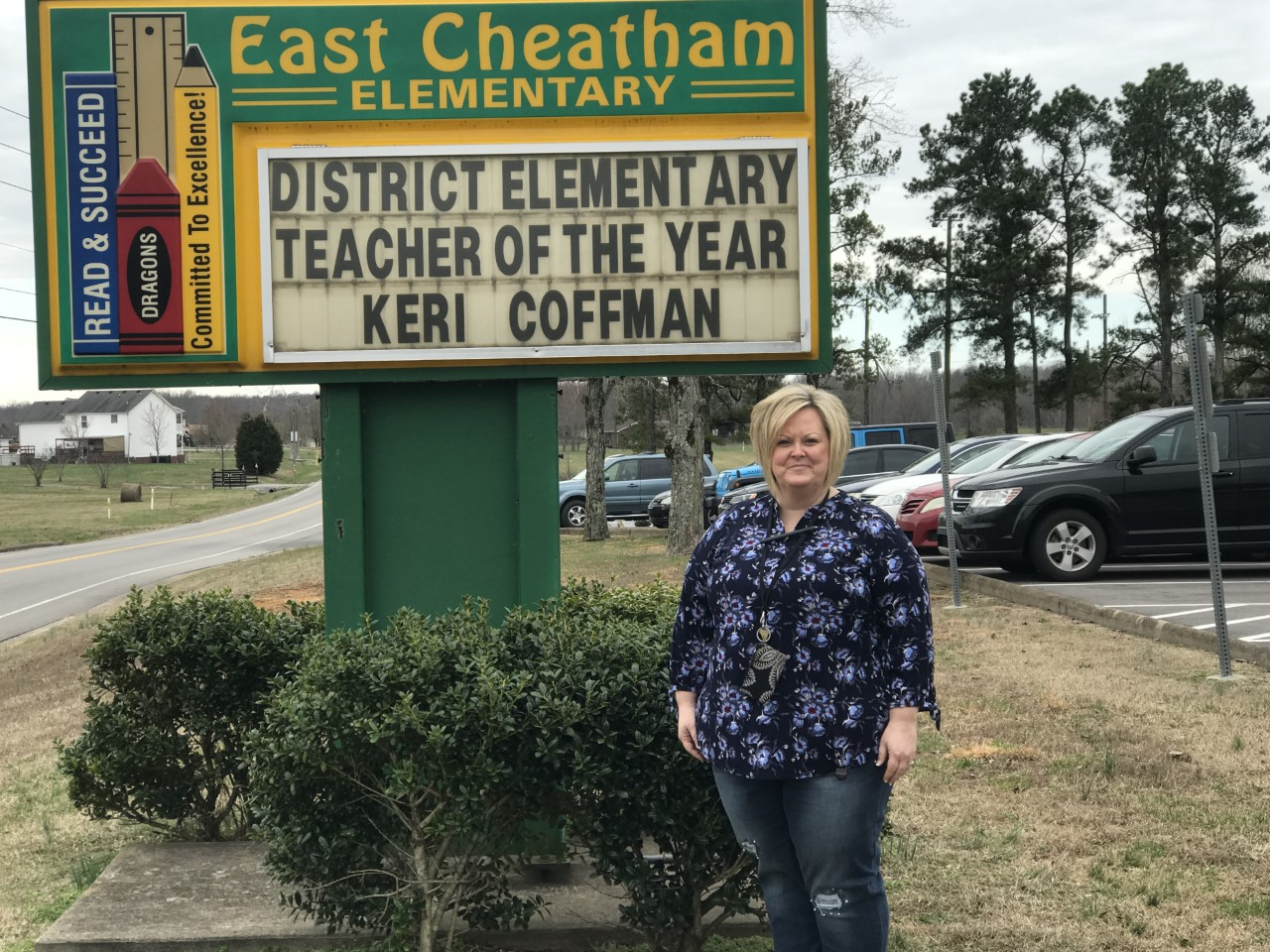 Keri Coffman, DISTRICT Teacher of the Year!!