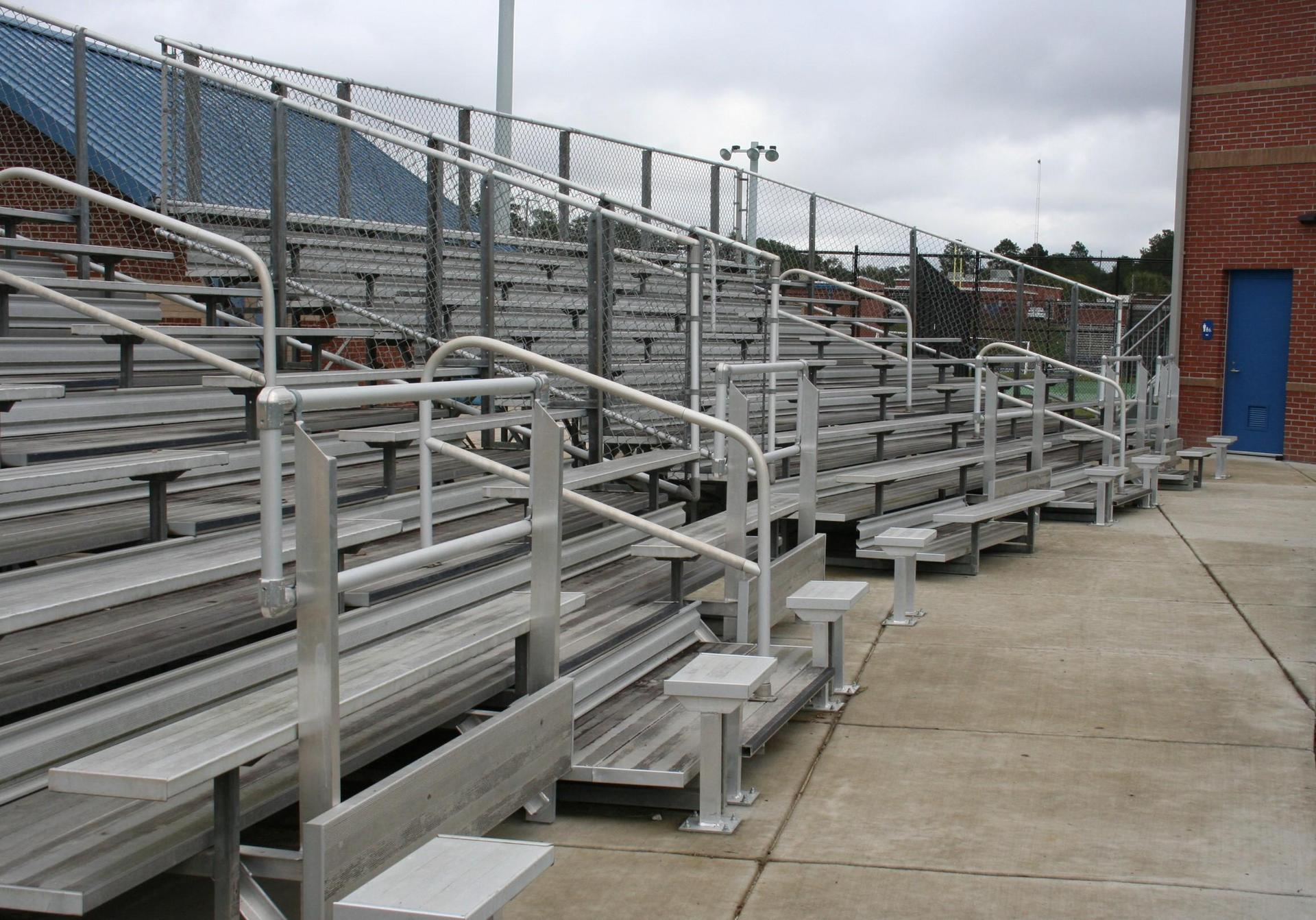 ADA SEATING AREA ADDED TO THE BASEBALL HOME AND VISITOR SIDES