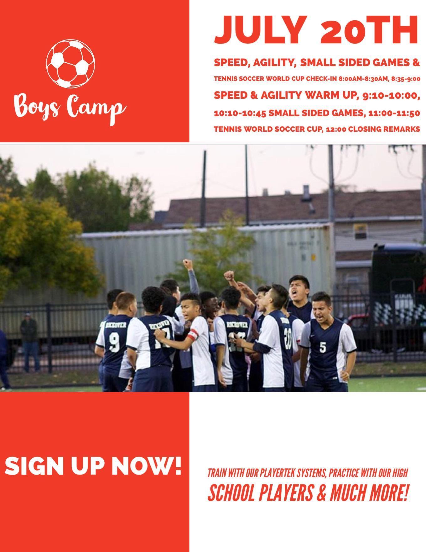 Boy's Soccer Summer Camp pg6
