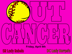 Pink Out Softball game