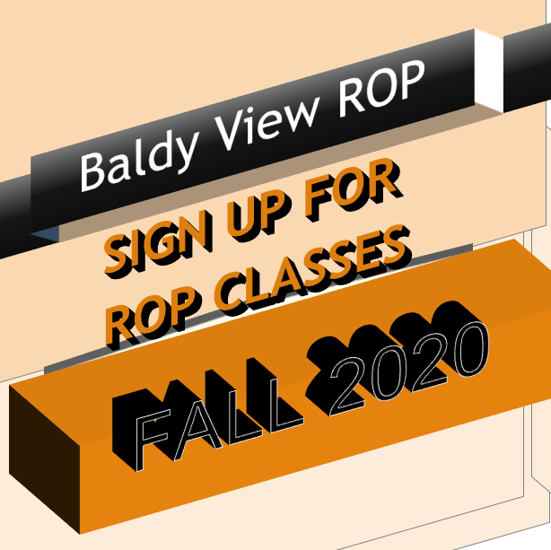Baldy View ROP Sign UPs
