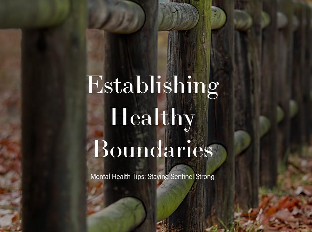 Healthy Boundaries presentation