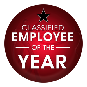 classified employee of the year logo