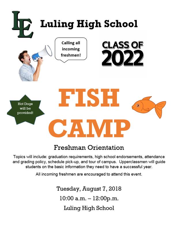 Fish Camp (Freshman Orientation) Thumbnail Image