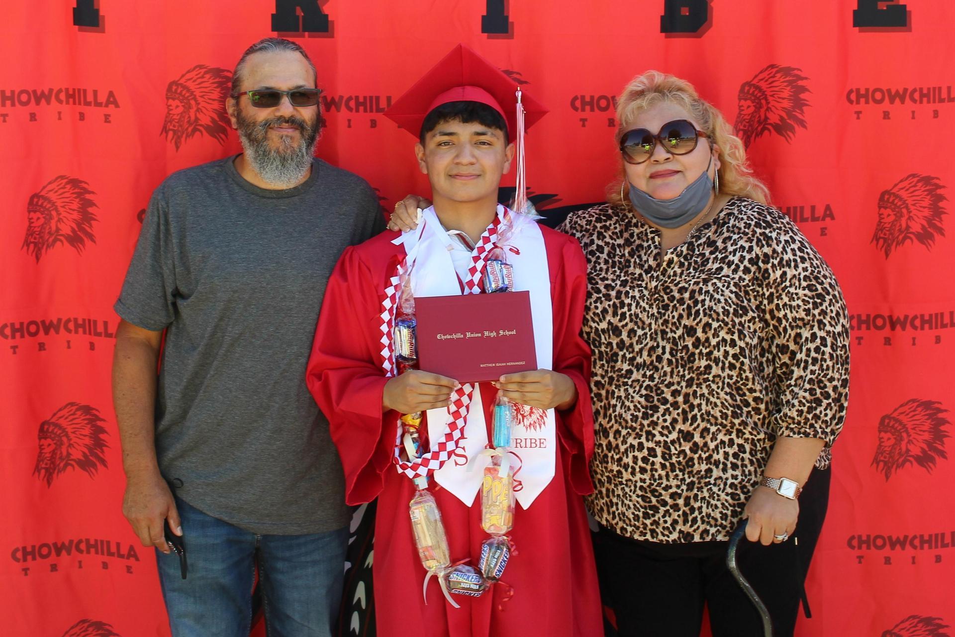 Matthew Hernandez and family