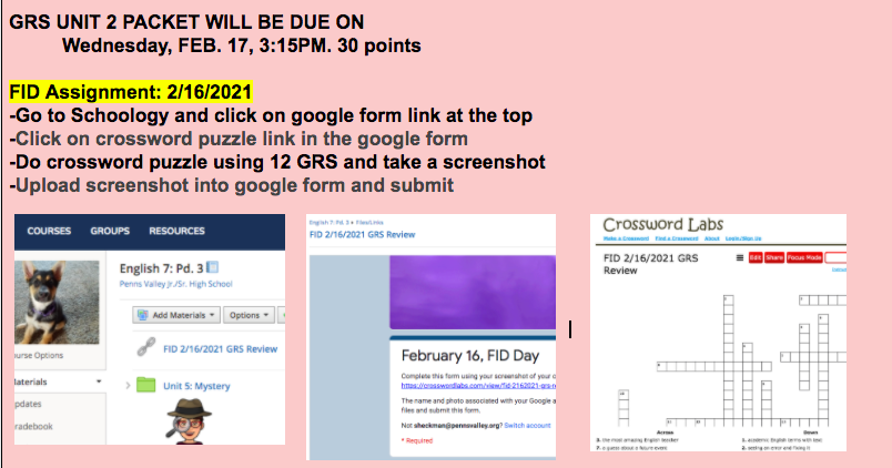 Communication Board Screenshot