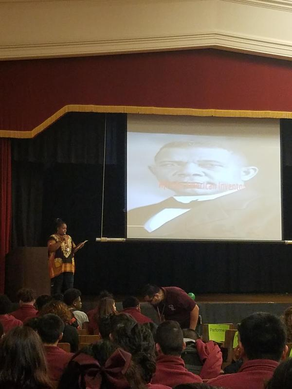 Black History Month Assembly! Featured Photo