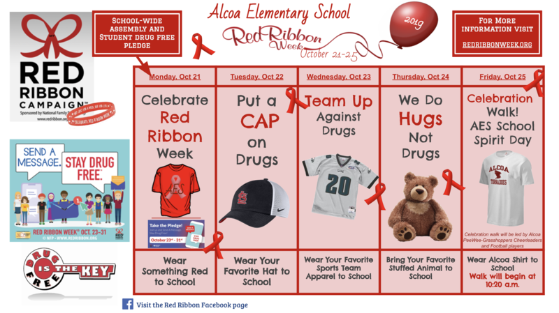 Red Ribbon Week 2019 Featured Photo