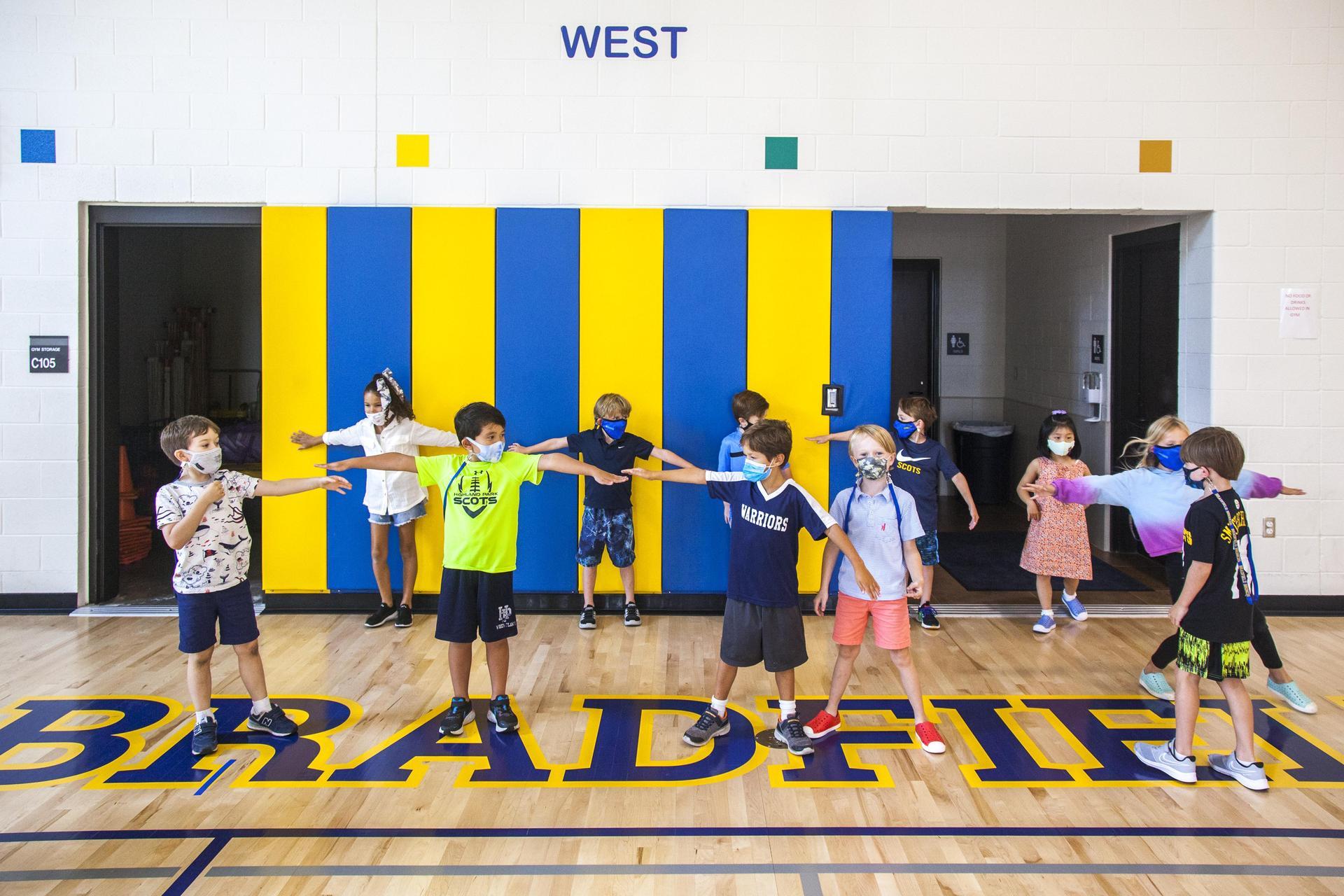 Bradfield Elementary Gym