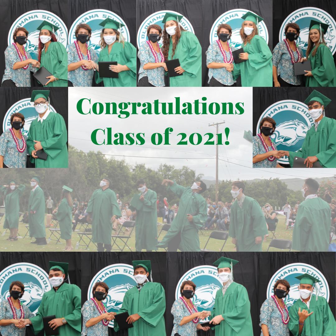Olomana Graduates