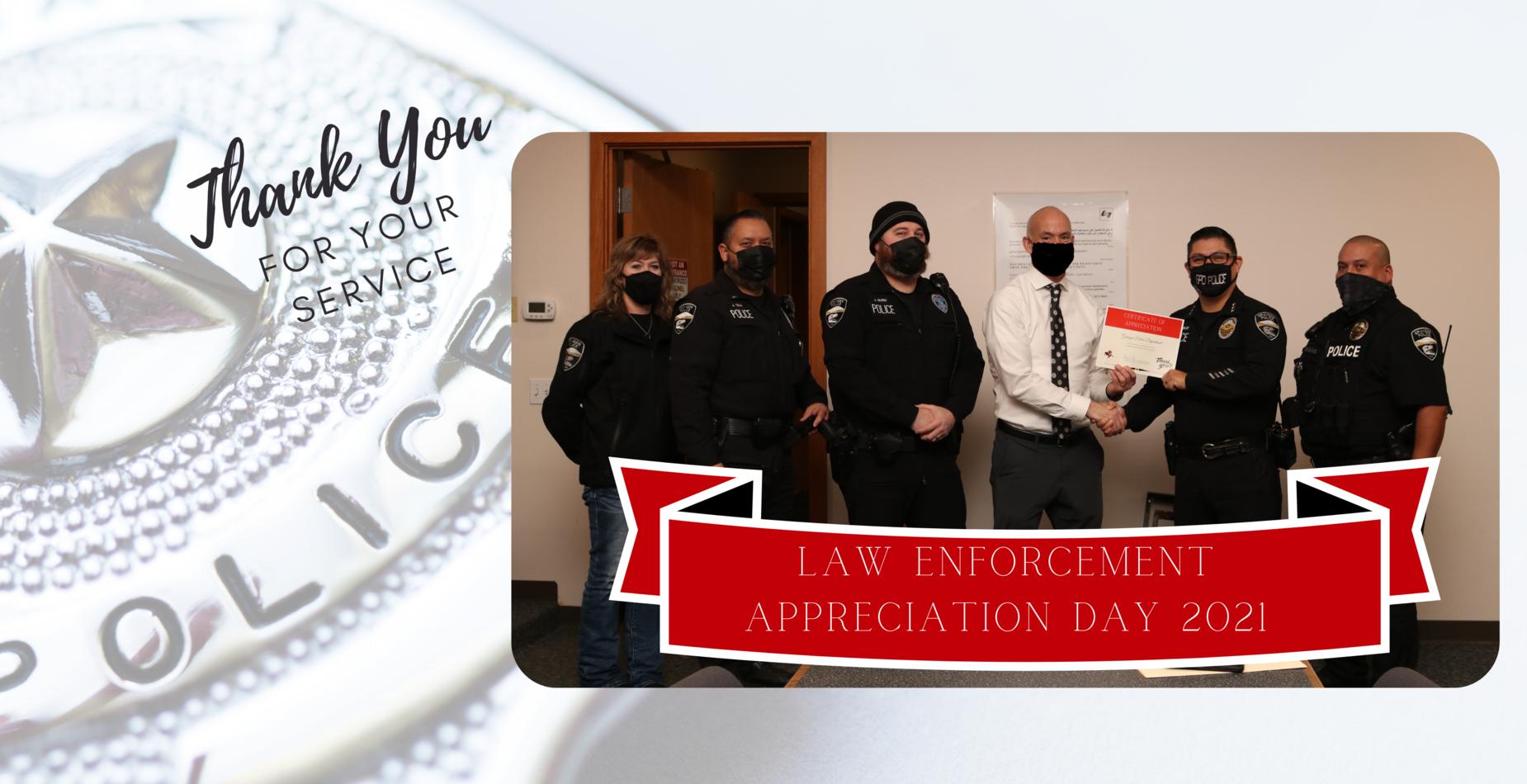 Law Enforcement day photo