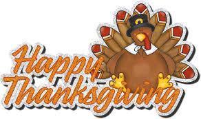 Thanksgiving Break November 21st-23rd Featured Photo