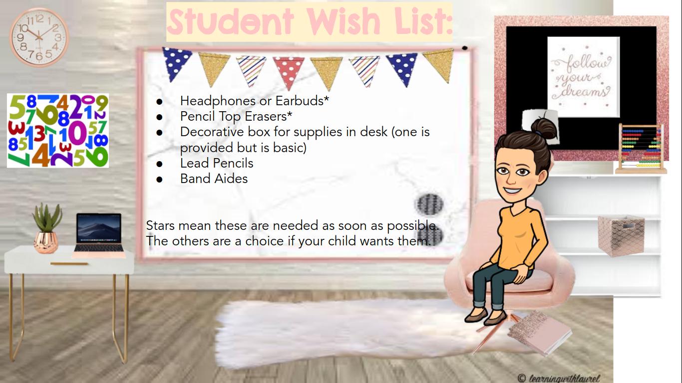 Student Wish List