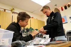 DHS Robotics class.