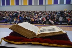 George Washington Inaugural Bible at PRMS