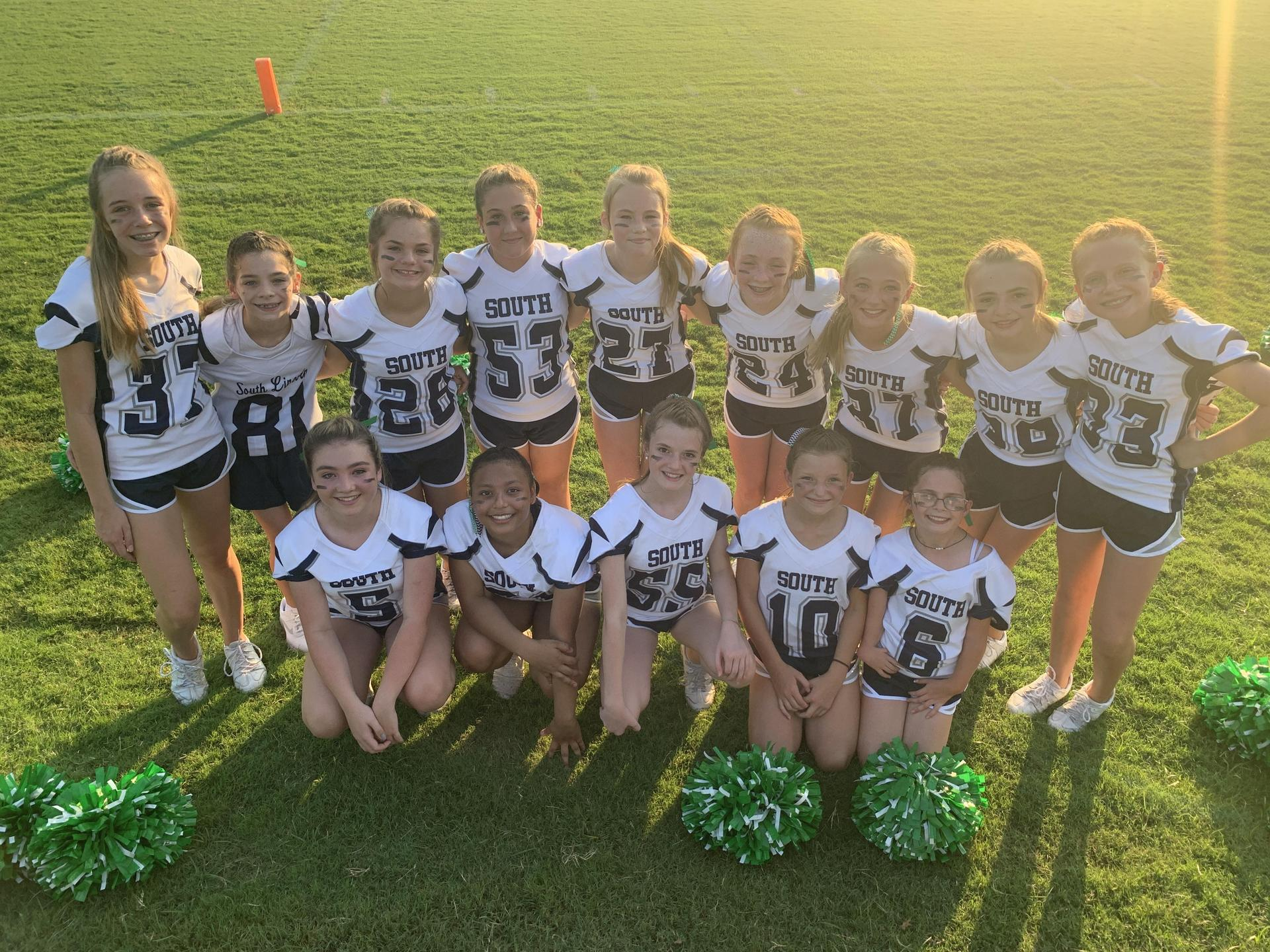 2020-2021 South Lincoln Cheerleaders