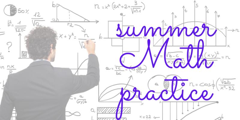Math Summer Practice