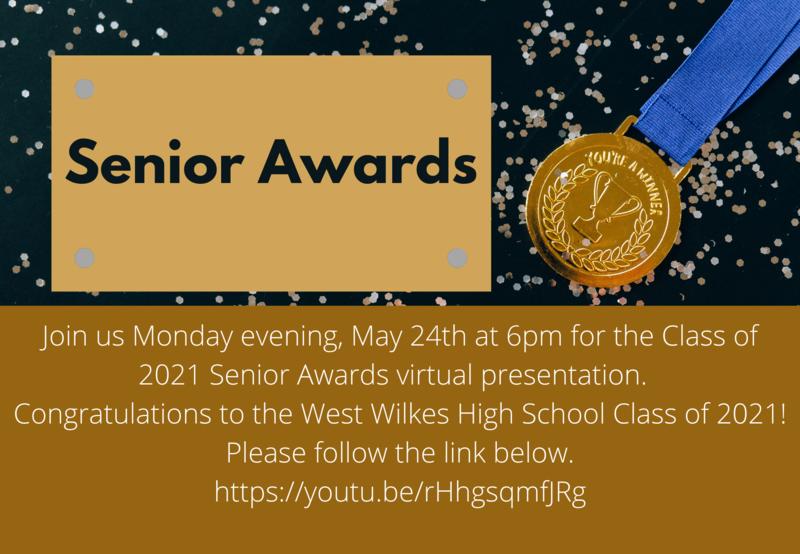 Class of 2021 Senior Awards Program Thumbnail Image