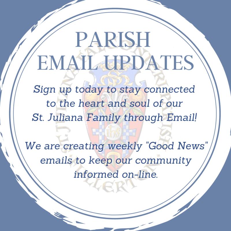 Parish Email Updates - sign-up! Featured Photo