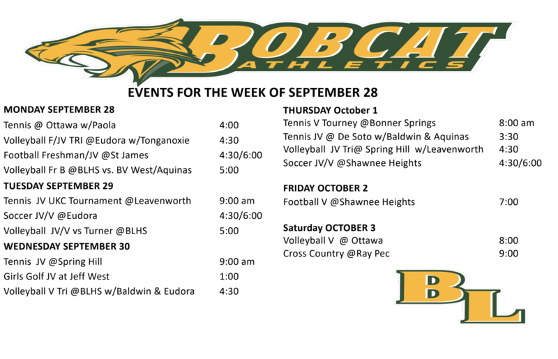 9/28 Schedule