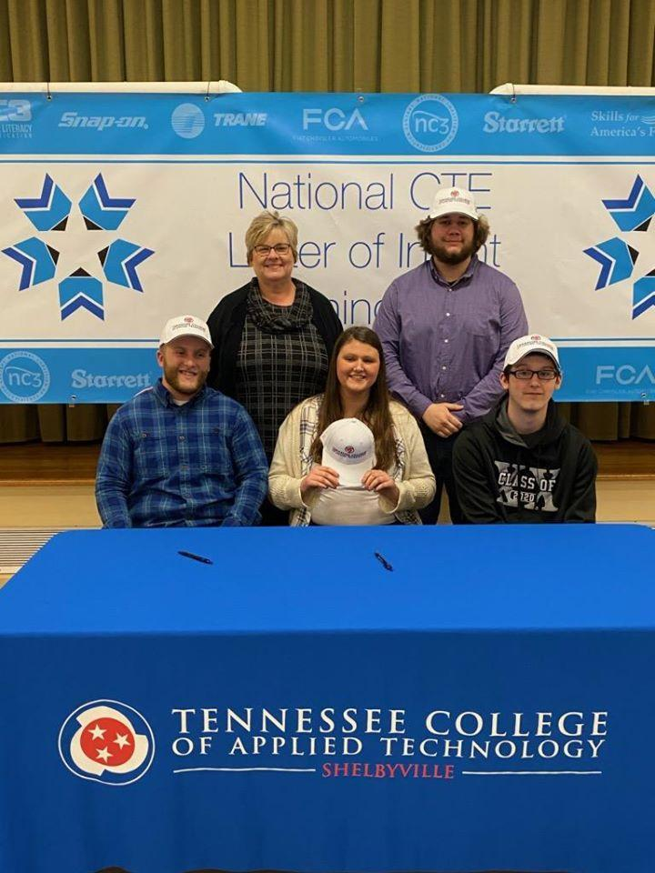 MCHS Seniors Sign with TCAT