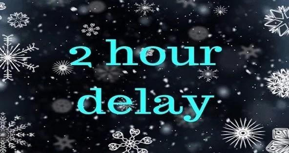 2-Hour Delay Tuesday October 27th Featured Photo