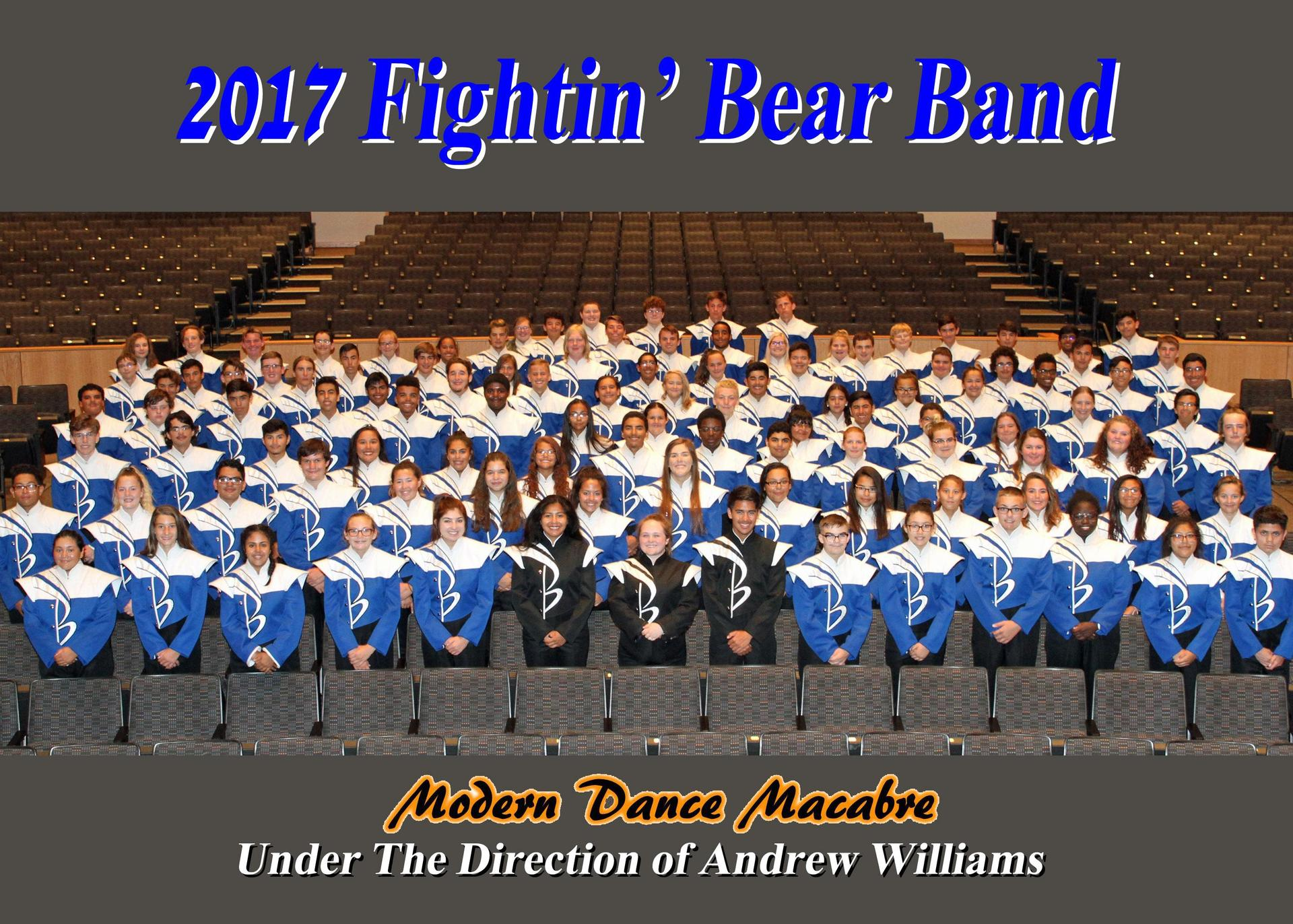 2017 Brewer High School Band