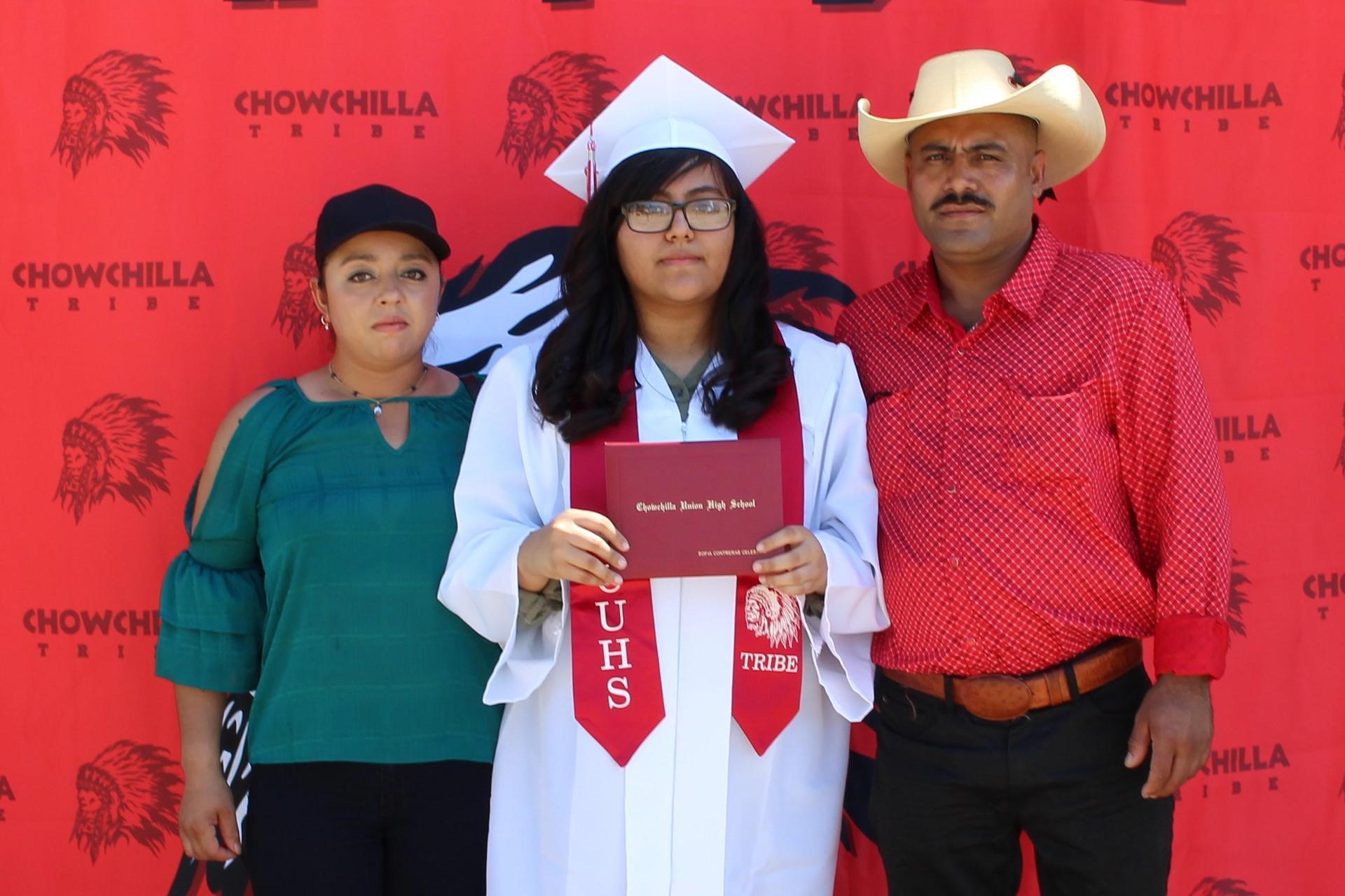 Sofia Contreras Celestino and family
