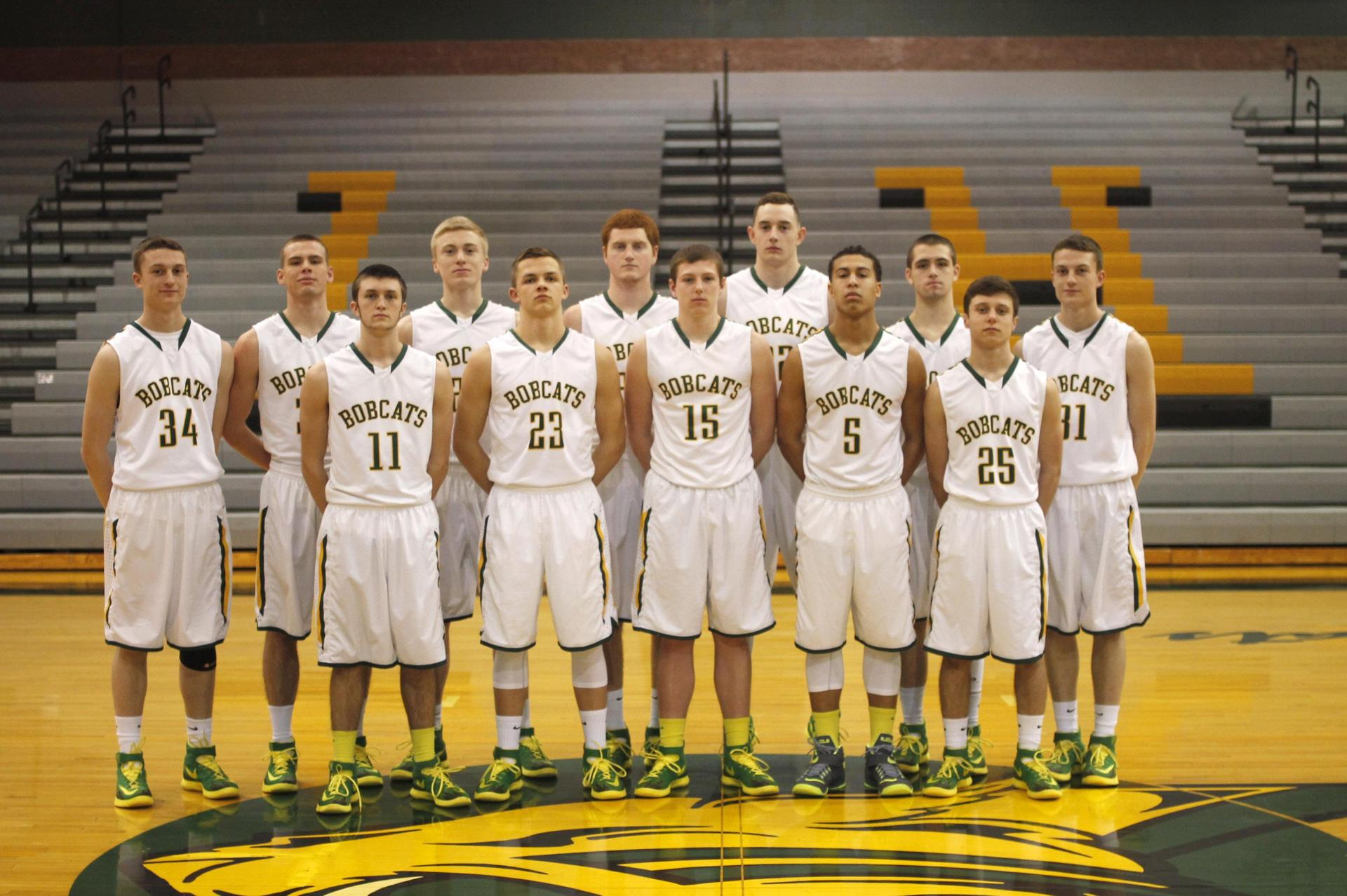 2015 4A State Basketball Runner Up Team Photo