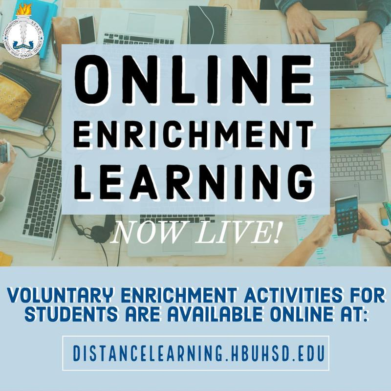 Distance Learning Enrichment Thumbnail Image