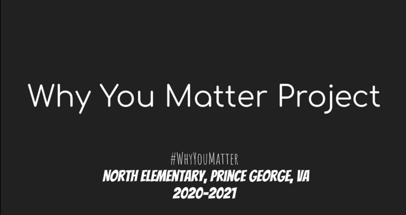 Why You Matter Project!
