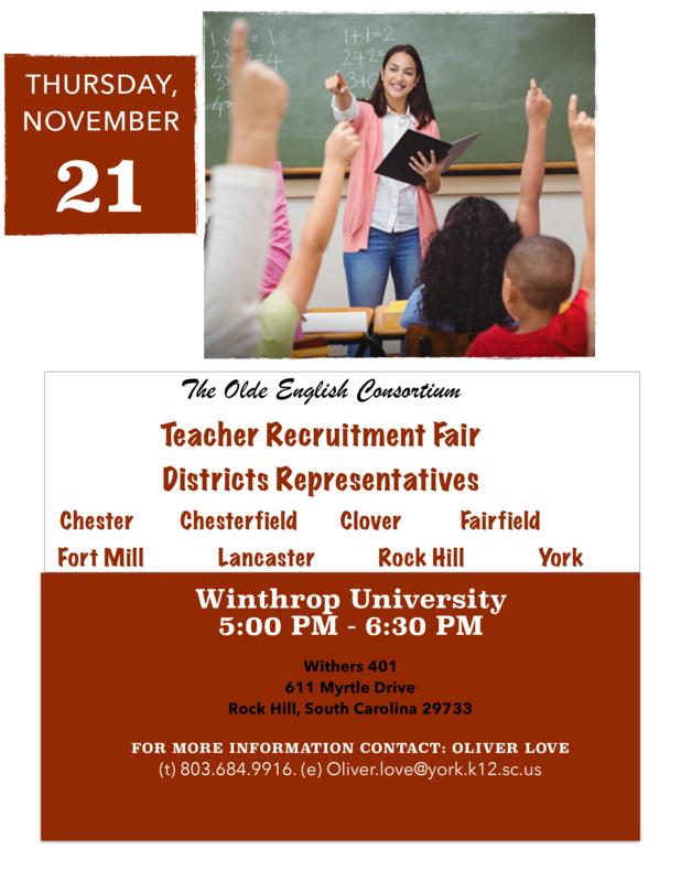 Teacher Recruitment Fair Featured Photo