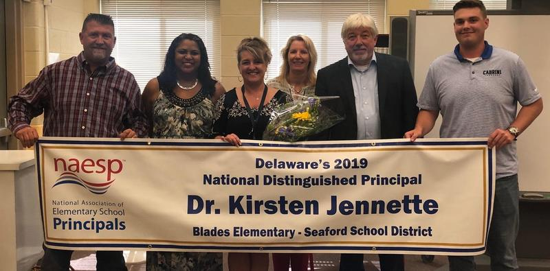 Delaware's 2019 National Distinguished Principal Featured Photo