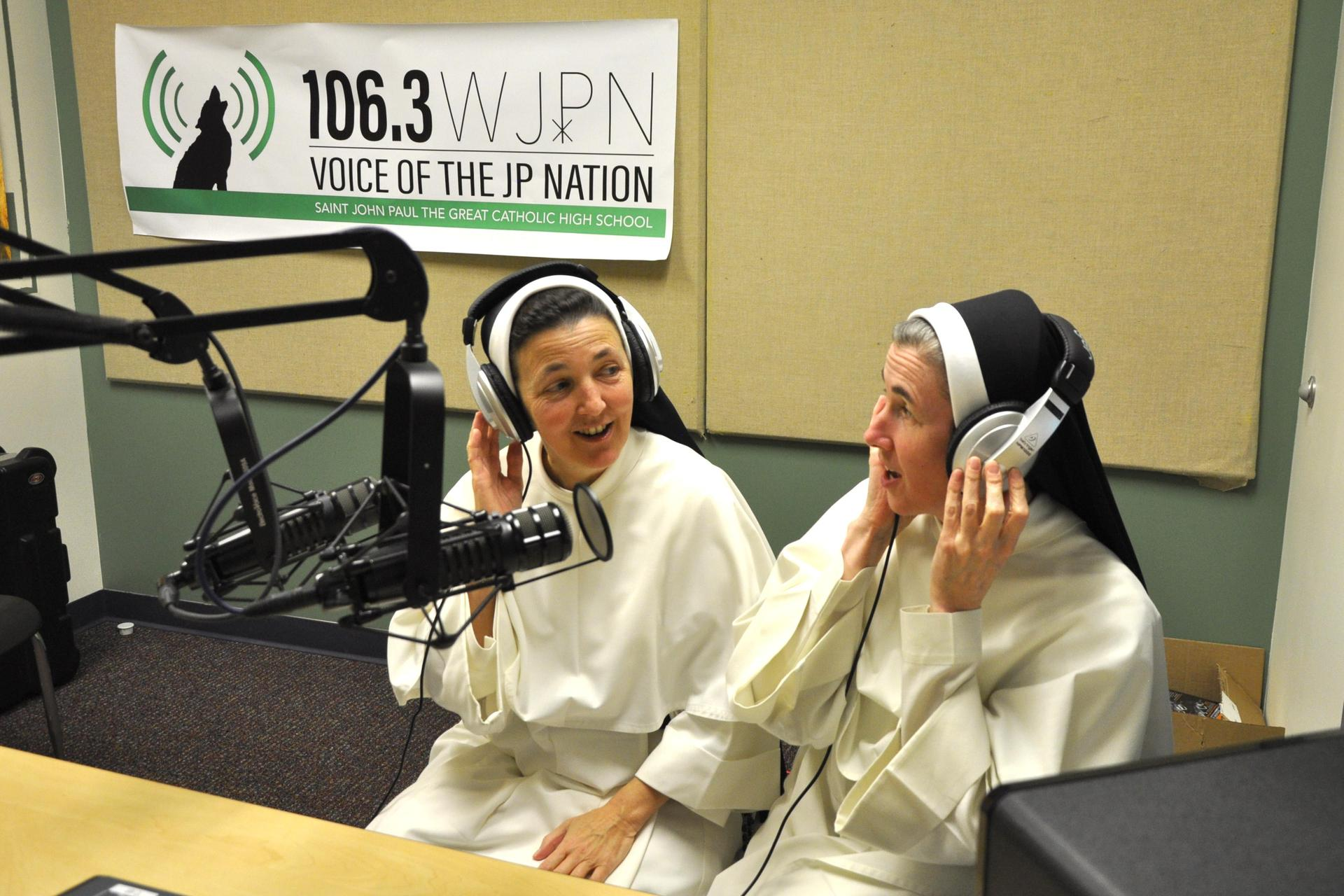 Two Sister broadcast on the radio
