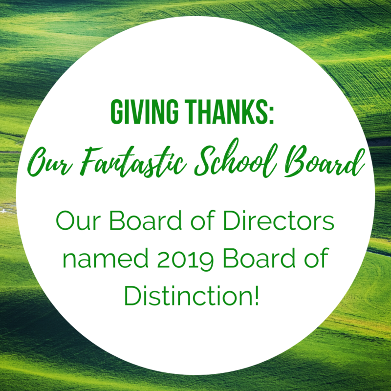 Giving Thanks: Our Fantastic School Board Thumbnail Image