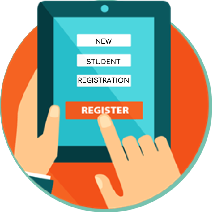 iPad image with online registration