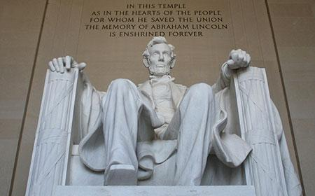 Abraham Lincoln is a colossal seated figure of United States President Abraham Lincoln sculpted by Daniel Chester French and carved by the Piccirilli Brothers.